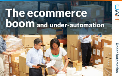 The ecommerce boom and under-automation