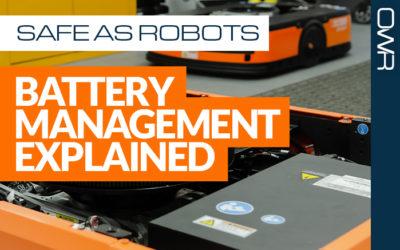 Safe as robots – battery management explained